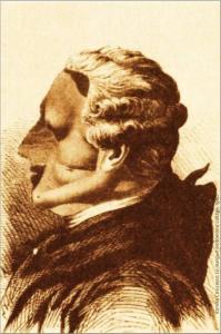 Roman Cieslewicz, Le Marquis érotomane, collage, 1960